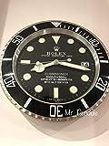 Rolex Replika - Reloj de pared, diseño de submarinero clás