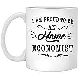 Lsjuee - Apprezzamento dell'economista domestico Migliore idea regalo divertente per l'ufficio di lavoro Novità gioco di parole Regalo fantastico per l'economista domestico