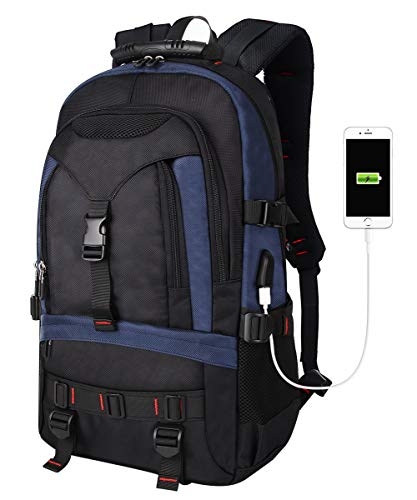 Tocode Laptop Backpack with USB Charging Port & HeadphonePort, 17-Inch...