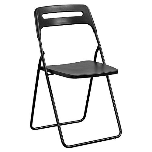 Lxn Chaise de Salle à Manger Pliable Design de Loisirs Simples, Pieds en métal pour sièges Portables en Plastique, chaises, Salle à Manger,Cuisine,Salle de réunion, Bureau,Chaise d'ordinateur - 1pcs