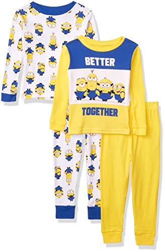 4pcs Cotton Pajama Set (Many Sizes)