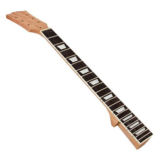 TOOGOO Lp Guitarra EléCtrica MáStil de Caoba DiapasóN Sector 22 Traste Repuesto de Guitarra DIY