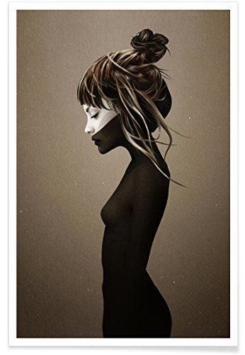 """JUNIQE® Fantasy Poster 40x60cm - Design """"This City"""" entworfen von Ruben Ireland"""