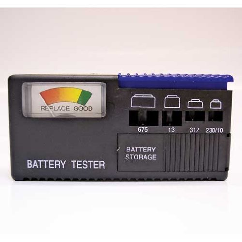 Hearing Aid Activair Battery Tester