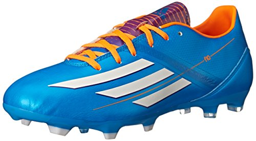 adidas F10 TRX FG Soccer Cleats Shoes - Solar Blue (Mens) - 11.5