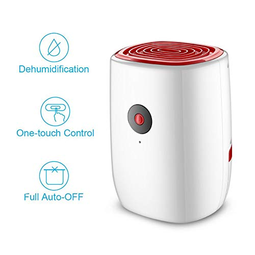 Best Price YINSY Small Dehumidifier,Portable Dehumidifier with 800Ml Water Tank and Auto Shut-Off,fo...