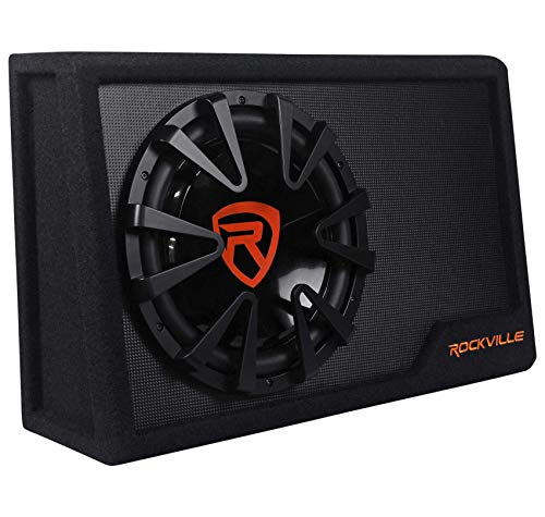 Rockville Rws12ca Slim 1200 Watt 12'...