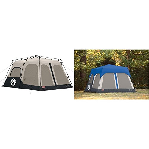 Coleman Instant 8 Person Tent Black 14x10 Feet W