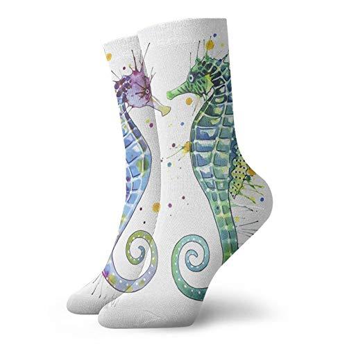 Rajfoo Guardianes Del Mar - Calcetines Personalizados Calcetines Deportivos Deportivos Medias Deportivas 30cm Calcetín Para Hombres Mujeres
