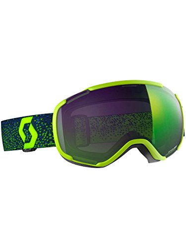 Scott - Masque De Ski/Snow Faze II Yellow Enhancer Green Chrome - Homme - Taille Unique - Jaune