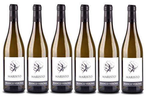 6er Vorteilspaket Maristo Bianco Veneto 2020 | Weißwein aus Italien | Venetien | 6 x 0,75l