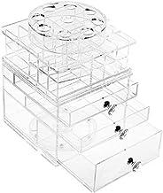 Makeup Organizer Drawers Division Drawer-type Transparent Cosmetic Storage Box Finishing Box Jewelry Rack Lipstick Storage...