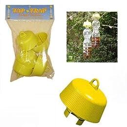 Teepao Trappola per mosche kit, dispositivo elettrico Fly Trap, trappola per mosche Safe bianco USB cavo e alimentatore, molto fisico e facile da usare