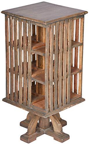 Better & Best Mueble Auxiliar revolving, de Color Madera Natural, Topo, 32x32x68 cm