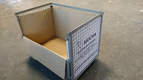 Faltkartoneinsatz zur Auskleidung einer DB Gitterbox gebraucht kaufen  Wird an jeden Ort in Deutschland