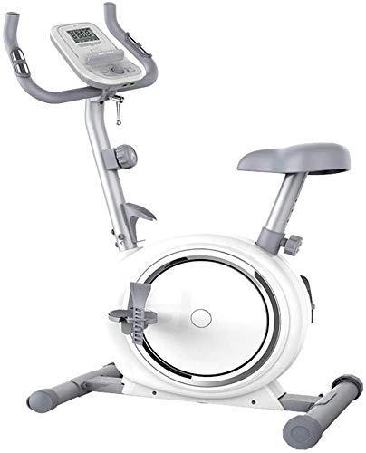 WEI-LUONG Plegable Bicicleta estacionaria magnética Plegable de la Bicicleta de Ejercicio magnética, Bicicleta reclinada Plegable con Respaldo, Bandas de Resistencia y Monitor LCD Plegable