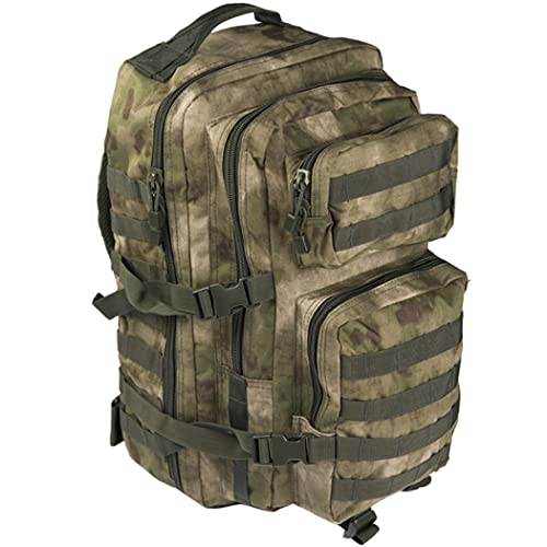 Mil-TACS 3 DAY Assault US Pack Molle Bag Rucksack | Backpack MILTEC | US Asssault 36L LARGE Verde Militar | Mochila táctica Militar con sistema Molle