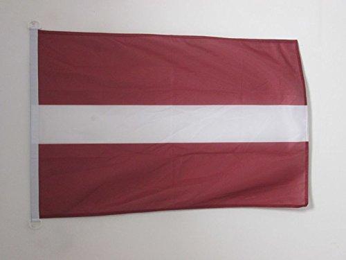 AZ FLAG Flagge LETTLAND 150x90cm - LETTISCHE Fahne 90 x 150 cm Aussenverwendung - flaggen Top Qualität