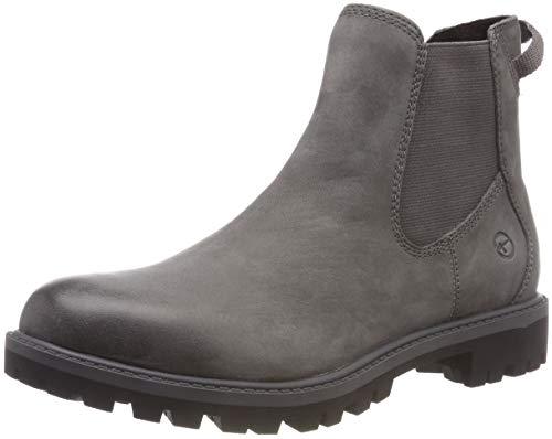 Tamaris Damen 25401-21 Chelsea Boots, Grau (Anthracite 214), 39 EU