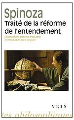 Traité de la réforme de l'entendement de Baruch Spinoza