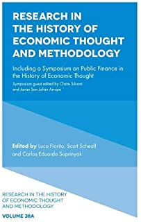 Research in the History of Economic Thought and Methodology: Including a Symposium on Public Finance in the History of Eco...