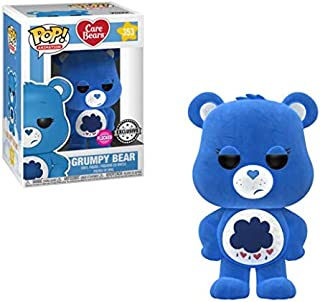 Funko Pop! Animation #353 Care Bears Flocked Grumpy Bear (Box Lunch Exclusive)