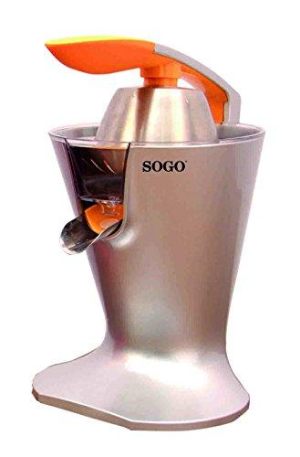 SOGO Exprimidor Eléctrico de zumo para cítricos Con filtro para pulpa y...