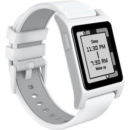 pebble 1002-00066 2 HR Smart Watch weiß/grau