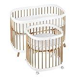 tweeto® Babybett Kinderbett 7-in-1 (Plus)   bis zu 10 Funktionen   inkl. Matratze