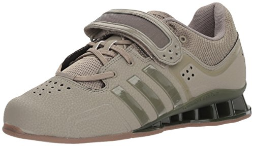 adidas Unisex-Adult Adipower Weightlift Cross Trainer, Trace Cargo/Trace Cargo/Gum, 16 M US