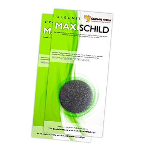 Orgonit-MaxiSchild - (2er-Pack) für Smartphone, Tablet-PC und WLAN-Router