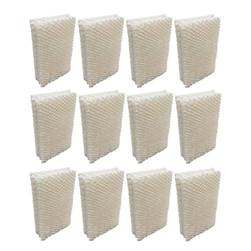 Humidifier Filter Replacement HDC12 AIRCARE, Essick Air, Emerson, MoistAir (12-Pack)