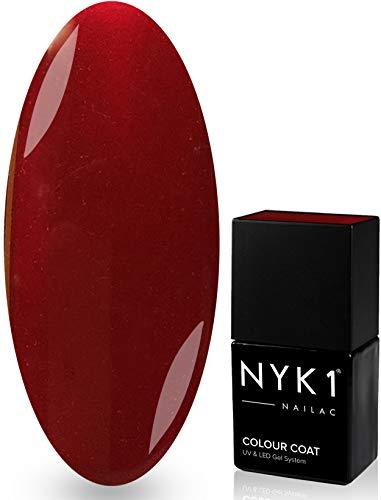 NYK1 Nailac Decadence Vernis à ongles professionnel gel Shellac soak off rapide Séchage UV et LED 10 ml Plus de 100 couleurs Shellac au choix