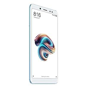 """Xiaomi Redmi Note 5 - Smartphone de 5.99"""" (Snapdragon Octa-core 636, memoria interna de 64 GB, 4 GB de RAM, cámara de 13 MP, Android) azul [versión española]"""