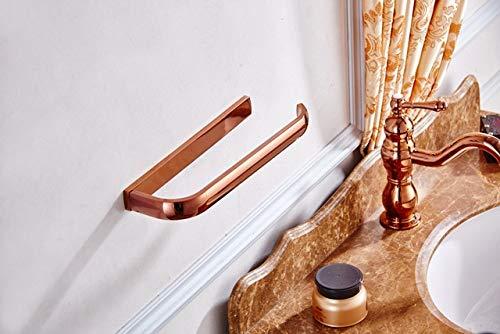 JYHW - Toallero de latón con anillo de baño antiguo o anillo de toalla de mano, soporte para toalla de cocina