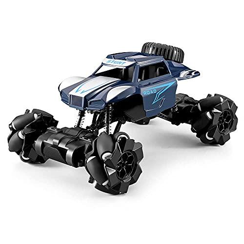 UJIKHSD Coches RC 4WD A Escala 1:16, Coche De Control Remoto De Alta Velocidad para Niños 3-5 4-7 8-12, Camiones Monstruo RC Todo Terreno De 2,4 GHz 4x4 Coche sobre Orugas Todoterreno