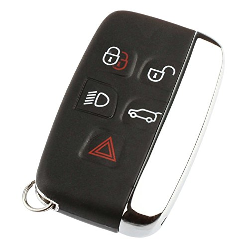 Car Key Fob Keyless Entry Remote fits Jaguar XK XJ XF XE F-Type 2013 2014 2015 2016 2017 (KOBJTF10A)