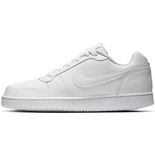 Nike Men's Ebernon Low Sneaker, White/White, 6.5 Regular US