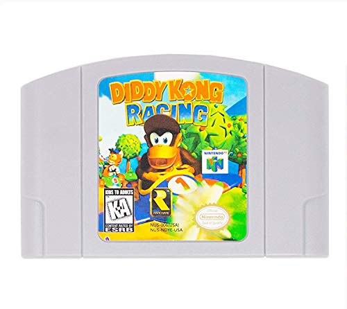 New Diddy Kong Racing Video Game Cartridge US Version For Nintendo 64 N64 Game Console