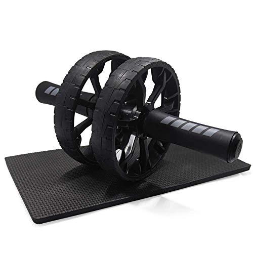 HAOSHUAI Roller Pad Bauch Trainer Rad Übung Fitnessgeräte Sportwalzen