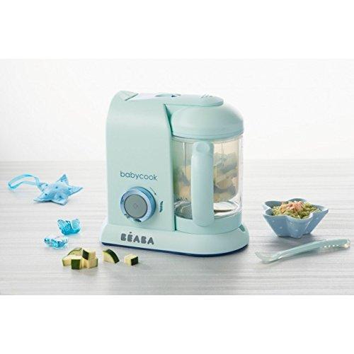 Béaba Babycook Solo MACARONS Edición Limitada - Robot de cocina 4-en-1 (UK IMPORT - Color: Aguamarina)