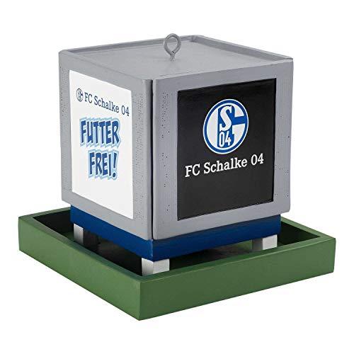 FC Schalke 04 Vogelhaus - Videowürfel - S04 Futterstation (L)