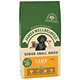 James Wellbeloved Complete Dry Senior Small Breed Dog Food Lamb and Rice, 7.5 kg