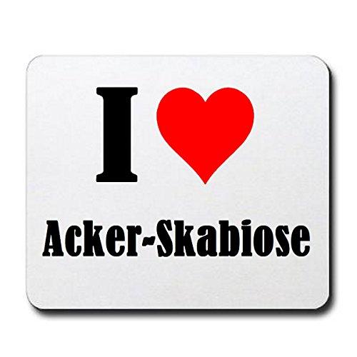Gaming Mauspad 'I Love Acker-Skabiose'...