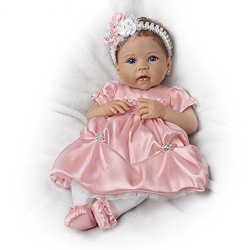 The Ashton-Drake Galleries Princess Lifelike Weighted Vinyl Baby Doll by Linda Murray
