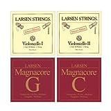 Larsen Magnacore Soloist 4/4 Cello String Set - Medium