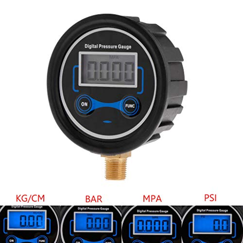 William-Lee 0-200psi, LCD digitale bandenspanningsmeter 1/8 NPT auto fiets motorfiets vrachtwagen bandenmonitor luchtpsimeter nauwkeurig automatisch alarm verlenging van de levensduur van de band