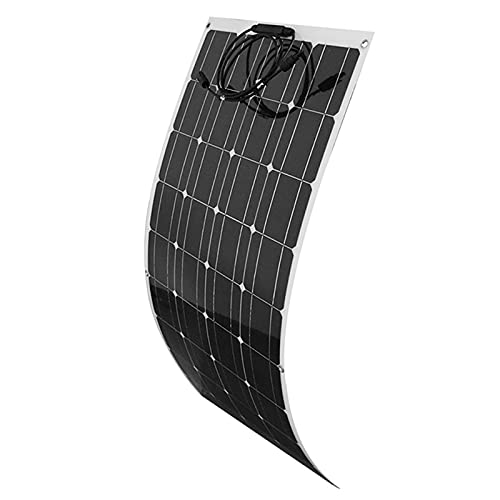 ZXYWW Panel Solar Semiflexible, Cargador Plegable Monocristalino De Los Paneles Solares De...