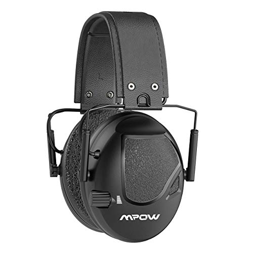 Mpow Shooting Ear Protection, Professional Electronic Shooting Earmuffs with Sound Amplification and Suppression, 22dB NRR Noise Reduction Ear muffs...