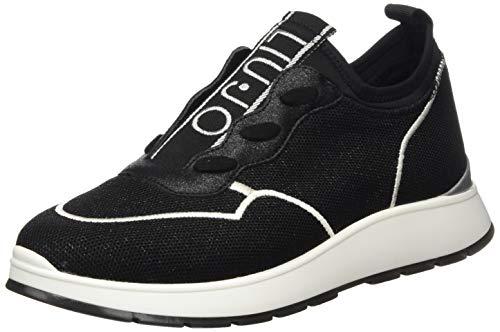 Liu Jo Shoes Asia 04-Slip on, Sneakers Basses Femme, Noir (B